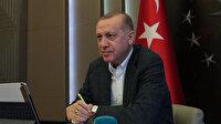 Cumhurbaşkanı Erdoğan Almanya Başbakanı Merkel ile koronavirüsü görüştü