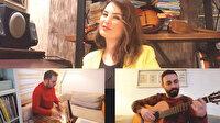 Öğretmenin ev orkestrası: Müzik kanalı açtılar