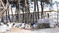 Tarihi Hadımköy Askeri Hastanesi'nde restorasyon aralıksız sürüyor