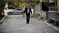 Beypazarı Belediyesi Başkanı Tuncer Kaplan ihtiyaç sahiplerinin yanında
