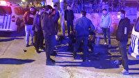 Arnavutköy'de gasptan yan binanın çatısına atlayarak kurtuldular: 5 kişiden 3'ü yaralandı