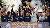 Fransa'da PSG şampiyon ilan edildi iki takım küme düştü