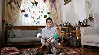 Minikler ramazanın manevi ruhunu 'köşelerine' taşıdı