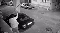Çarşaf hırsızı kamerada!