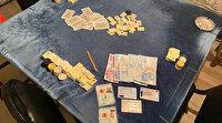 Sokağa çıkma yasağına konteynerda kumar oynarken yakalandılar