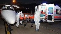 Sudan'daki Türk hasta ambulans uçakla Türkiye'ye getirildi