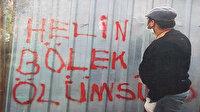 DHKP/C de kimmiş? Örgüt lehine duvarlara yazılar yazan CHP'li gençler üç maymuna oynadı