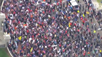 ABD'nin Massachusetts eyaletinde koronavirüs protestosu