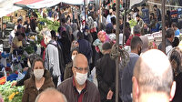 Beylikdüzü'ndeki semt pazarında dikkat çeken kalabalık