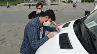 Taksim'de iki arkadaşa sosyal mesafe ve maske cezası: Takmıyorum ceza kesin