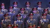 Rus Kızıl Ordu Korosu Mehter Marşı'nı seslendirdi