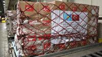 Tıbbi yardım malzemeleri Kazakistan'a gönderildi