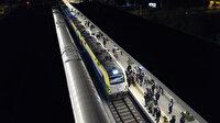 Marmaray'dan ilk defa yük treni geçti