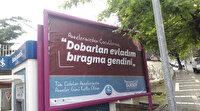 Trabzon'da bilboardlara dikkat çeken Anneler Günü mesajları: Uşağım aman ha akilli ol