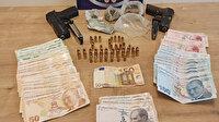 Otomobilde uyuşturucu madde kullanan 5 kişi gözaltına alındı