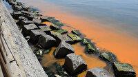 Marmara Denizi turuncuya büründü