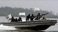 Ekvator Ginesi'nde korsanlar 5 denizciyi kaçırdı