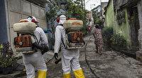 Brezilya'da evsizler soğuk ve virüs salgını arasında tercih yapmaya zorlanıyor
