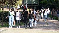 İstanbul'dan şoke eden görüntüler: Salgın yokmuş gibi parklara akın ettiler