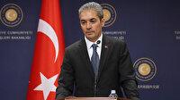 Dışişleri sözcüsü Aksoy'dan Mısır, Yunanistan, GKRY, Fransa ve BAE'nin ortak bildirisine tepki: İkiyüzlüğünün ibretlik bir örneği