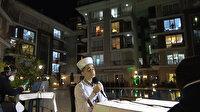 Beylikdüzü'nde bir sitede ramazan etkinliği düzenlendi: Site sakinleri pencerelerden ilgiyle izledi