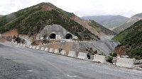 Avrupa'nın en uzunu olacak Zigana Tüneli'nin yüzde 68'i tamamlandı