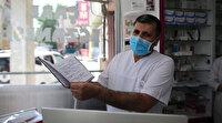 Hastaların eczanelere olan 30 bin liralık borcunu ödeyip zarfla para bıraktı