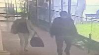 Ankara'da bebek kaçırma olayı kameralara yansıdı