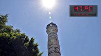 Türkiye çöl sıcaklarının etkisinde: Termometreler patladı, asfalt eridi!