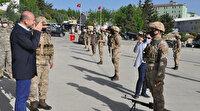 Bakan Soylu Şırnak'ta operasyon birlikleriyle bir araya geldi
