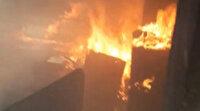 İzmir'de korkutan yangın: Patlama sesi paniğe yol açtı
