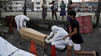 Salgının yeni merkez üssü: Sokaklardan ölüler toplanıyor, hastaneler doldu