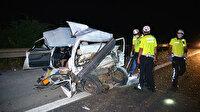 Adana'da TIR otomobili biçti: Anne öldü baba ve 3 kızı ağır yaralandı