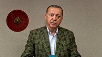 Cumhurbaşkanı Erdoğan tüm yurtta okunan İstiklal Marşı'na eşlik etti