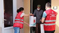 Sultanbeyli'de 65 yaş üstü kimsesiz vatandaşlara bayram hediyesi