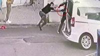 İki fırıncının vurulduğu anların güvenlik kamerası görüntüleri ortaya çıktı