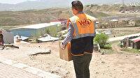 """Korkmuyoruz: Van'da PKK'lı teröristlerce katledilen """"Vefa"""" ekibi sosyal yardımlarını aralıksız sürdürüyor"""