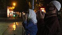 Sokağa çıkma yasağı bitince Eyüpsultan Camii'ne koştular