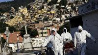 Brezilya'da korkutan tablo: Hayatını kaybedenlerin sayısı bin 179 kişi arttı