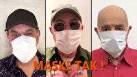 Sağlık Bakanı Koca, MFÖ'nün 'Maske tak' şarkısını paylaştı