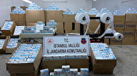 Korona fırsatçılarına büyük darbe: 800 bin kaçak maske ele geçrildi