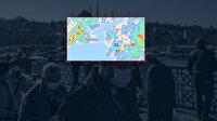 İstanbul'un koronavirüs yoğunluk haritası ilçe ilçe güncellendi