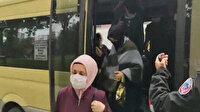Polis bile şoke oldu: Salgına rağmen balık istifi minibüs