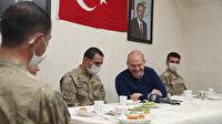 Cumhurbaşkanı Erdoğan İkiyaka Dağları'ndaki askerlerin bayramını kutladı