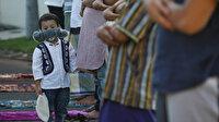 Endonezya'da bayram sabahı: Bayram namazı evlerde ve açık alanlarda kılındı