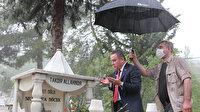 CHP'li Başkanın tepki çeken mezarlık ziyareti: Kabir başında dua ederken ki fotoğrafı büyük tepki topladı