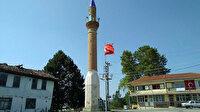 Camisiz minare 83 yıldır ilçenin sembolü oldu
