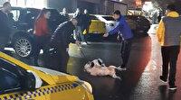 İstanbul'da sokak ortasında pitbull dehşeti