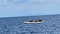 Yunanistan'ın ölüme terk ettiği 40 göçmen kurtarıldı