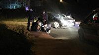 Kaldırıma çarpan alkollü sürücünün yaptığı pes dedirtti: 2025'e kadar ehliyetine el konulduğu ortaya çıktı